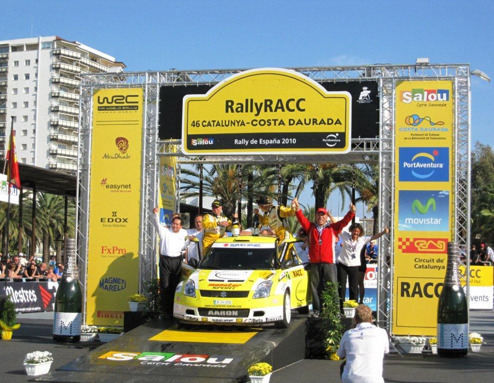 2010JWRC Spain Podium 2